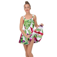 Vector Pattern Tropical Inside Out Dress