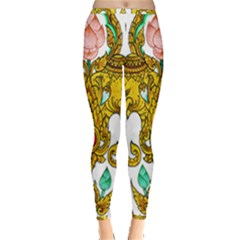 Traditional Thai Style Painting Inside Out Leggings