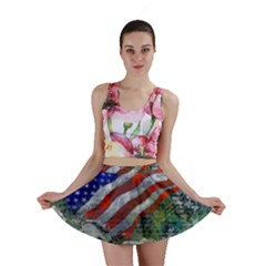 Usa United States Of America Images Independence Day Mini Skirt