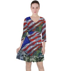 Usa United States Of America Images Independence Day Ruffle Dress