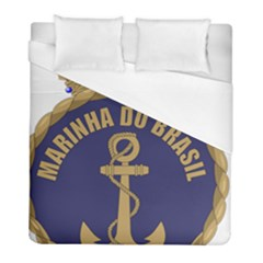 Seal Of Brazilian Navy  Duvet Cover (full/ Double Size) by abbeyz71