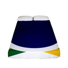 Roundel Of Brazilian Air Force Fitted Sheet (full/ Double Size) by abbeyz71