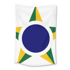 Roundel Of Brazilian Air Force Small Tapestry by abbeyz71