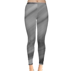 Wave Form Texture Background Inside Out Leggings