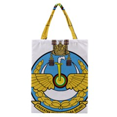 Emblem Of Royal Brunei Air Force Classic Tote Bag by abbeyz71