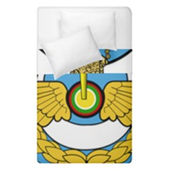 Emblem Of Royal Brunei Air Force Duvet Cover Double Side (single Size) by abbeyz71