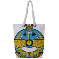 Emblem Of Royal Brunei Air Force Full Print Rope Handle Tote (small) by abbeyz71
