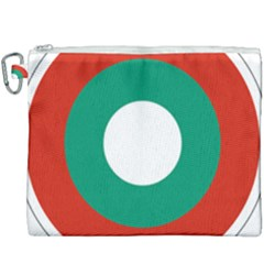 Bulgarian Air Force Roundel Canvas Cosmetic Bag (xxxl) by abbeyz71