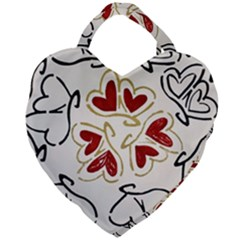 Loving Hearts Giant Heart Shaped Tote