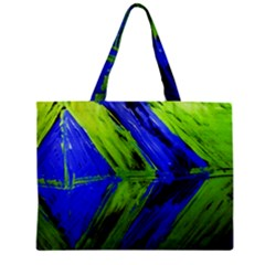 Point Of Equilibrium 7 Zipper Mini Tote Bag by bestdesignintheworld