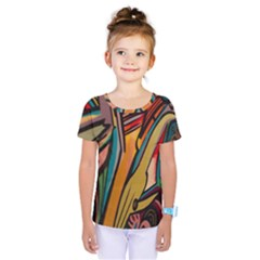 Vivid Colours Kids  One Piece Tee