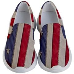 Usa Flag Kid s Lightweight Slip Ons by Sapixe