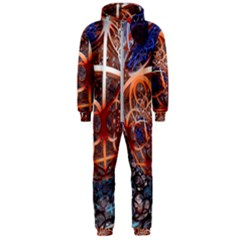 Complexity Chaos Structure Hooded Jumpsuit (men)