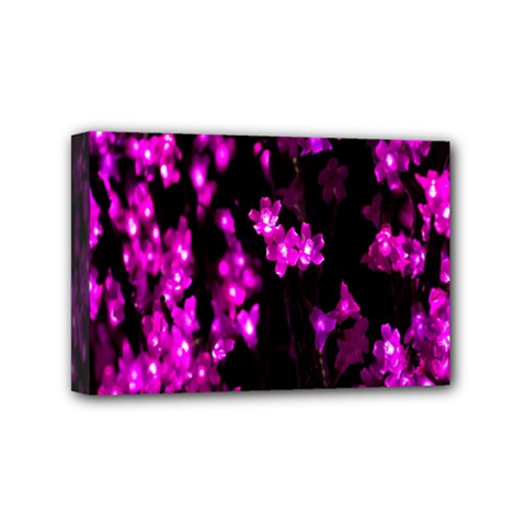 Abstract Background Purple Bright Mini Canvas 6  X 4  by Sapixe
