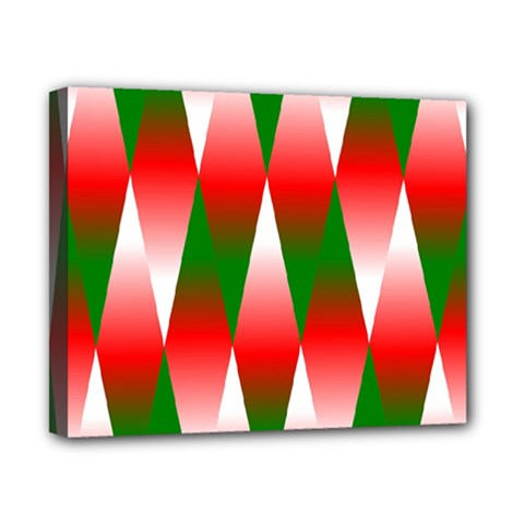 Christmas Geometric Background Canvas 10  X 8  by Sapixe