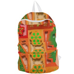 Christmas Design Seamless Pattern Foldable Lightweight Backpack by Sapixe