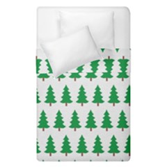 Christmas Background Christmas Tree Duvet Cover Double Side (single Size) by Sapixe