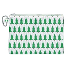 Christmas Background Christmas Tree Canvas Cosmetic Bag (xl) by Sapixe