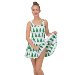 Christmas Background Christmas Tree Inside Out Dress