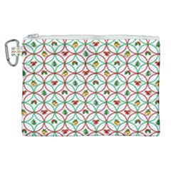 Christmas Decorations Background Canvas Cosmetic Bag (xl) by Sapixe