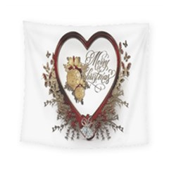 Christmas Décor Decoration Winter Square Tapestry (small)