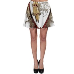 Christmas Décor Decoration Winter Skater Skirt by Sapixe