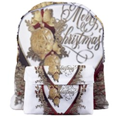 Christmas Décor Decoration Winter Giant Full Print Backpack by Sapixe