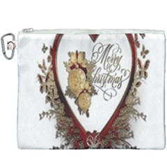 Christmas Décor Decoration Winter Canvas Cosmetic Bag (xxxl) by Sapixe