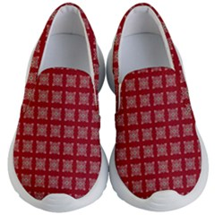 Christmas Paper Wrapping Paper Kid s Lightweight Slip Ons by Sapixe
