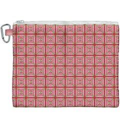 Christmas Paper Wrapping Paper Canvas Cosmetic Bag (xxxl) by Sapixe