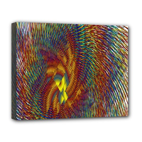 Fire New Year S Eve Spark Sparkler Deluxe Canvas 20  X 16   by Sapixe