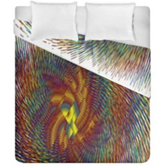 Fire New Year S Eve Spark Sparkler Duvet Cover Double Side (california King Size)