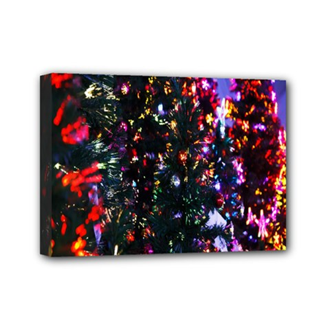 Abstract Background Celebration Mini Canvas 7  X 5  by Sapixe