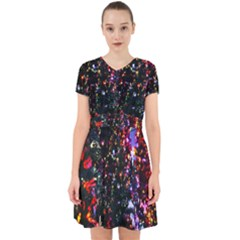 Abstract Background Celebration Adorable In Chiffon Dress