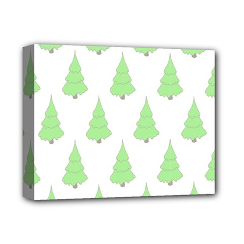 Background Christmas Christmas Tree Deluxe Canvas 14  X 11
