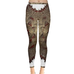 Jewelry Jewel Gem Gemstone Shine Inside Out Leggings by Sapixe