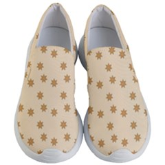 Pattern Gingerbread Star Women s Lightweight Slip Ons