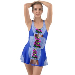 Seamless Repeat Repeating Pattern Art Swimsuit