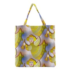 Seamless Repeat Repeating Pattern Grocery Tote Bag by Sapixe
