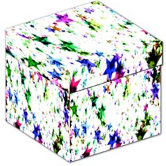 Star Abstract Advent Christmas Storage Stool 12   by Sapixe