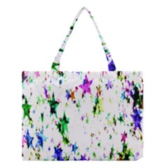 Star Abstract Advent Christmas Medium Tote Bag by Sapixe
