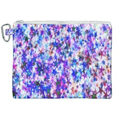 Star Abstract Advent Christmas Canvas Cosmetic Bag (xxl) by Sapixe