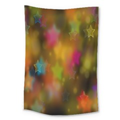 Star Background Texture Pattern Large Tapestry