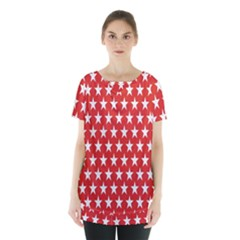 Star Christmas Advent Structure Skirt Hem Sports Top