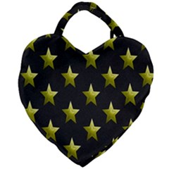 Stars Backgrounds Patterns Shapes Giant Heart Shaped Tote by Sapixe