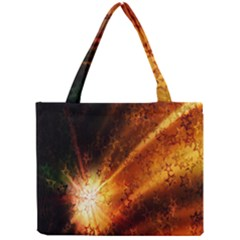 Star Sky Graphic Night Background Mini Tote Bag by Sapixe