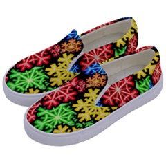 Wallpaper Background Abstract Kids  Canvas Slip Ons by Sapixe