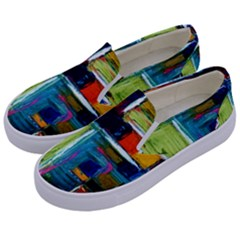Marakesh 3 Kids  Canvas Slip Ons by bestdesignintheworld