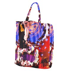 Balboa   Islnd On A Sand 7 Giant Grocery Zipper Tote by bestdesignintheworld