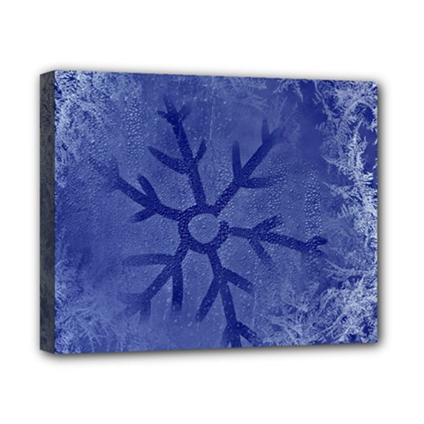 Winter Hardest Frost Cold Canvas 10  X 8  by Sapixe